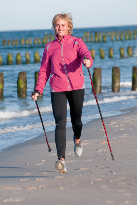 How To Get Back in Shape with Nordic Pole Walking